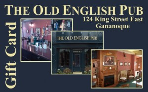the old english pub gananoque