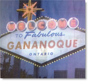 welcome to gananoque