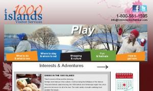 gananoque thousand islands ontario chamber commerce website