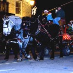 parade gananoque xmas santa downtown photos photographs pics pictures