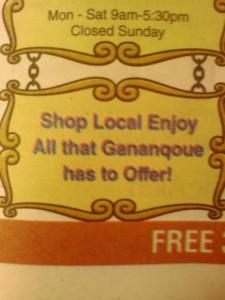 Shop Gananqoue gananoque ganoque gananockway