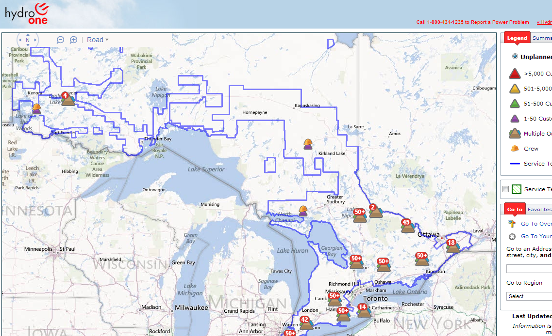 hydro_one_power_outage_map | In Gananoque