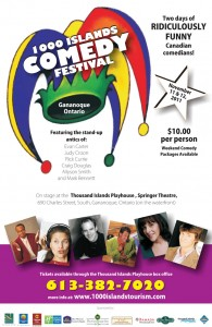 1000 islands comedy festival playhouse theatre