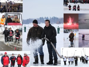 pondalapooza pondapalosa gananoque not cancelled pond hockey 1000 islands 2012