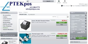 pos ptek point of sale