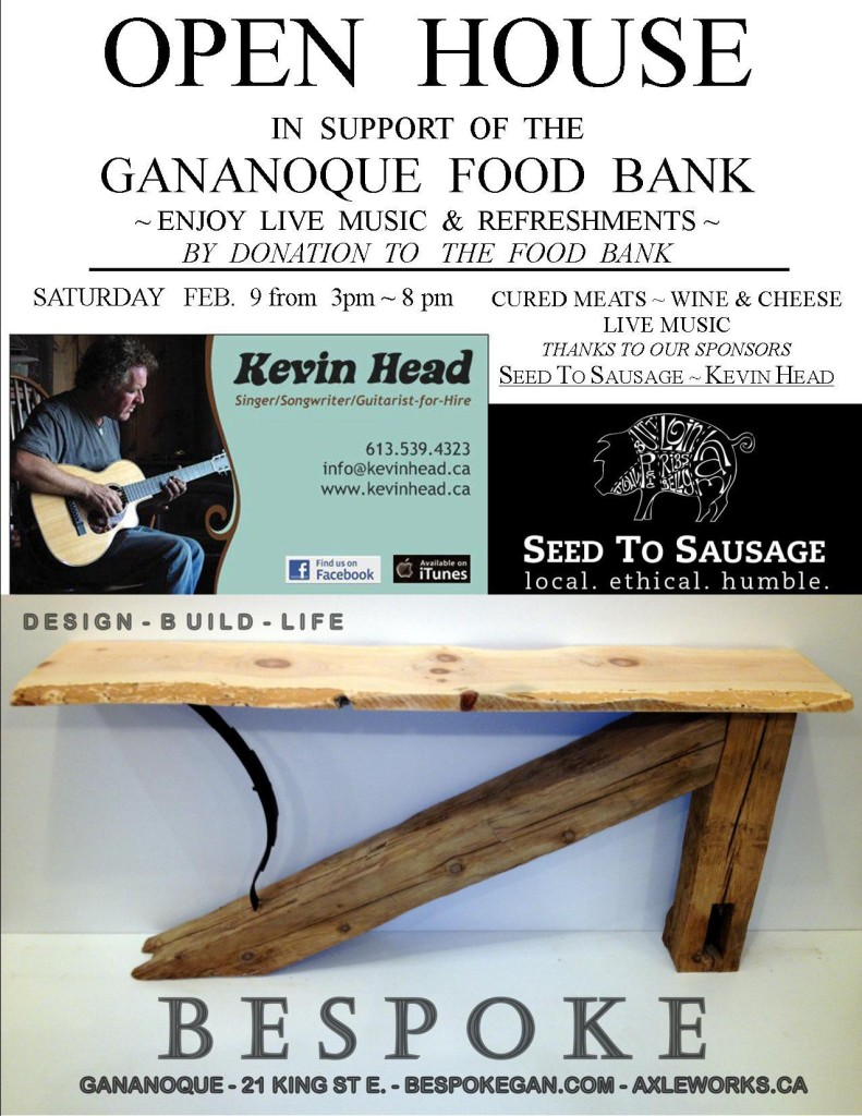 kevin head bespoke gananoque food bank