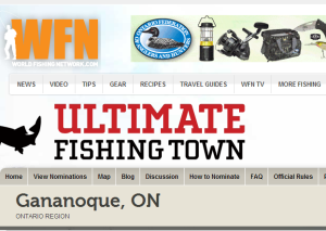 our gananoque ultimate fishing town