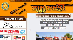 ribfest 2013 gananoque 1000 islands