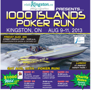 poker run kingston 1000 islands