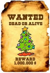 gananoque christmas xmas tree pickup