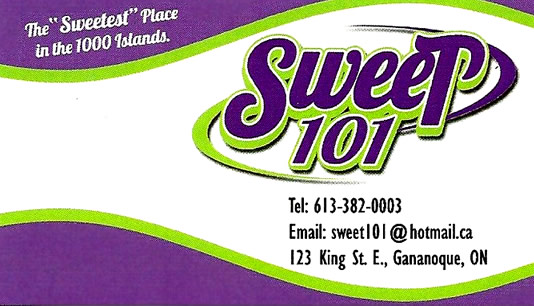 sweet 101 gananoque candy sweets icecream cotton chocolate