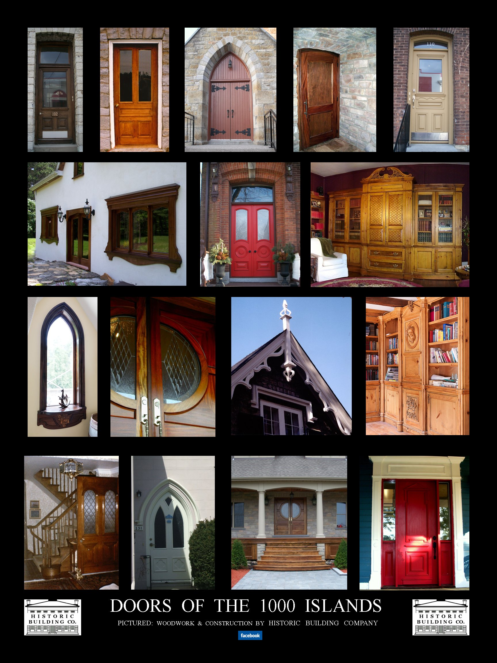 Doors of the 1000 Islands