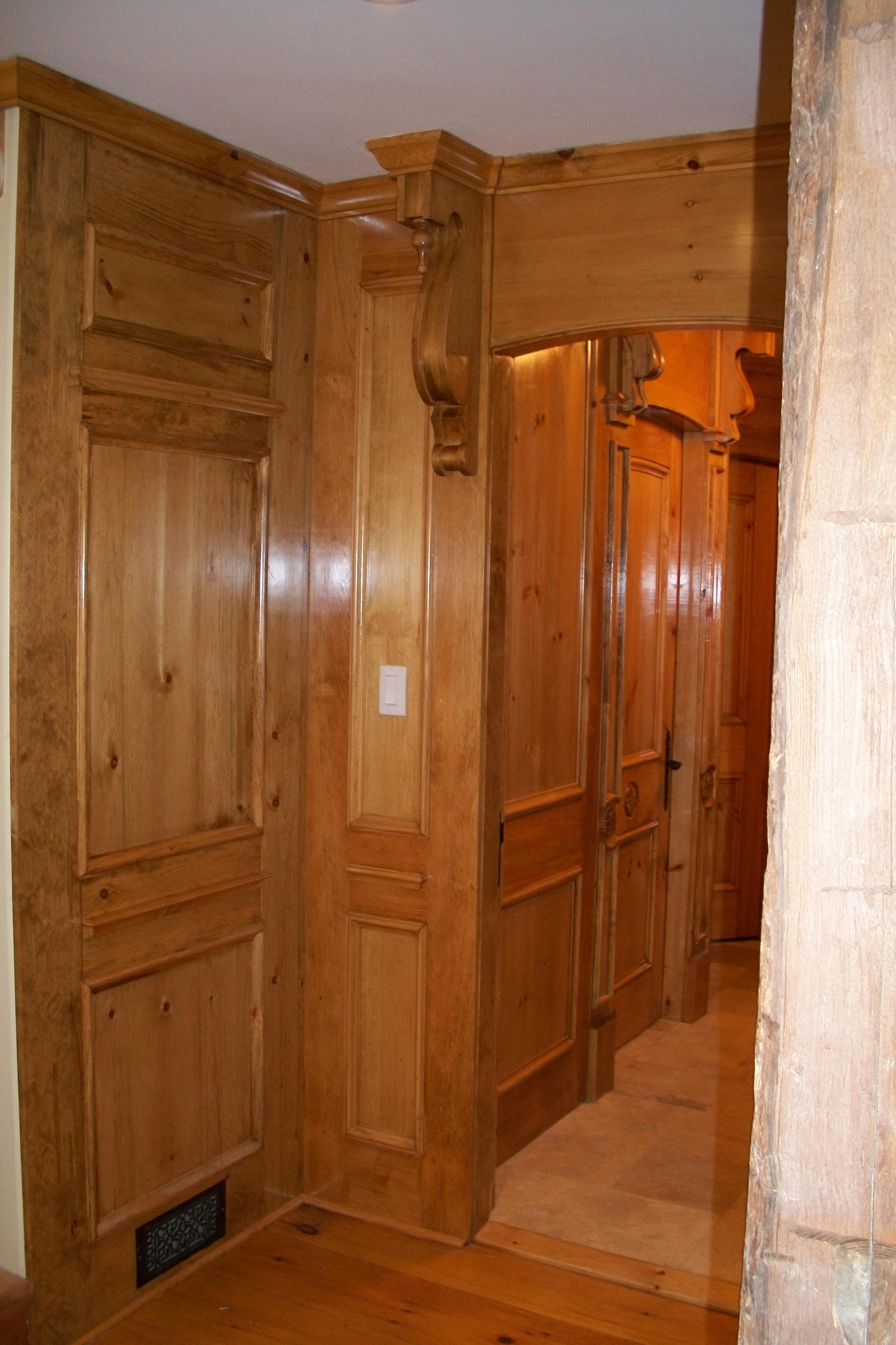 custom doors, mouldings, trim