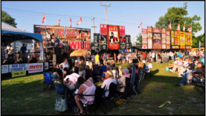 downtown gananoque ribfest lions rotary club